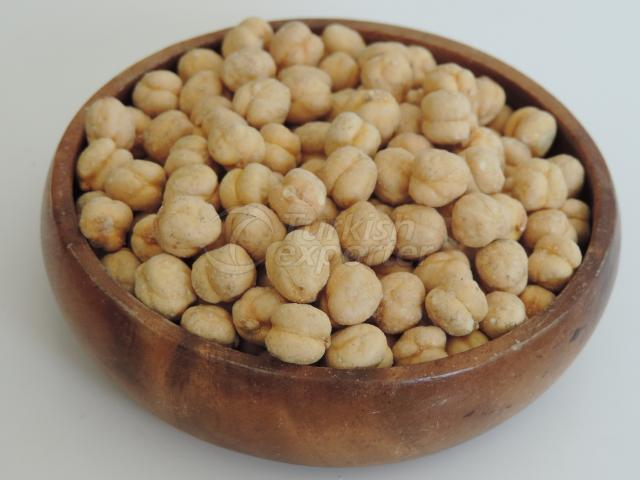 Yellow Salted and Roasted Chickpeas