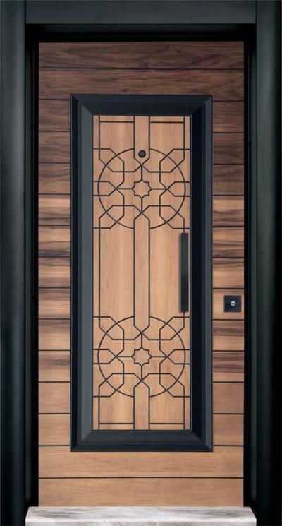 Rustic  Steel Door 7704