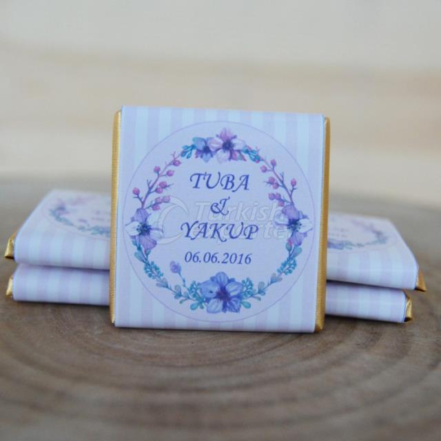 Floral Wedding Design Madlen Chocolate