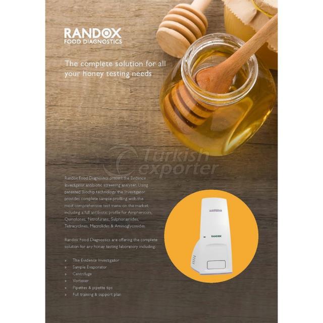 العسل منتجات التشخيص