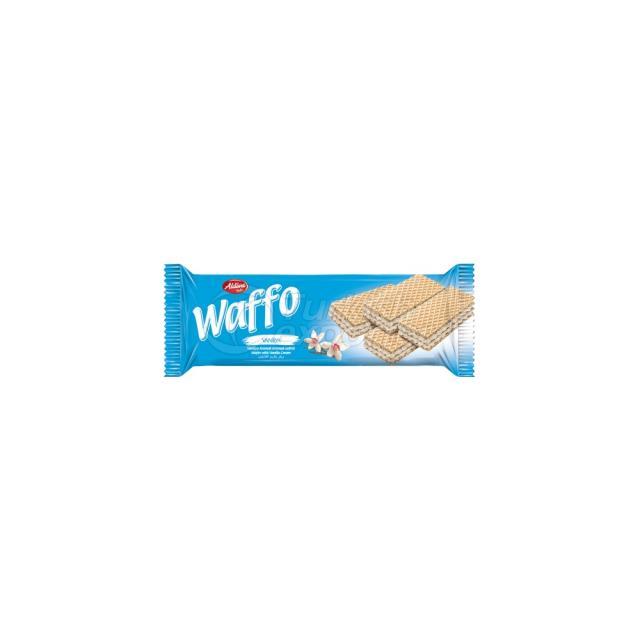 Waffo Wafer With Vanilla Cream