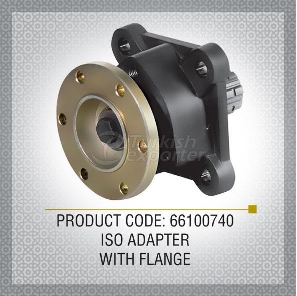 Iso Adapter With Flange