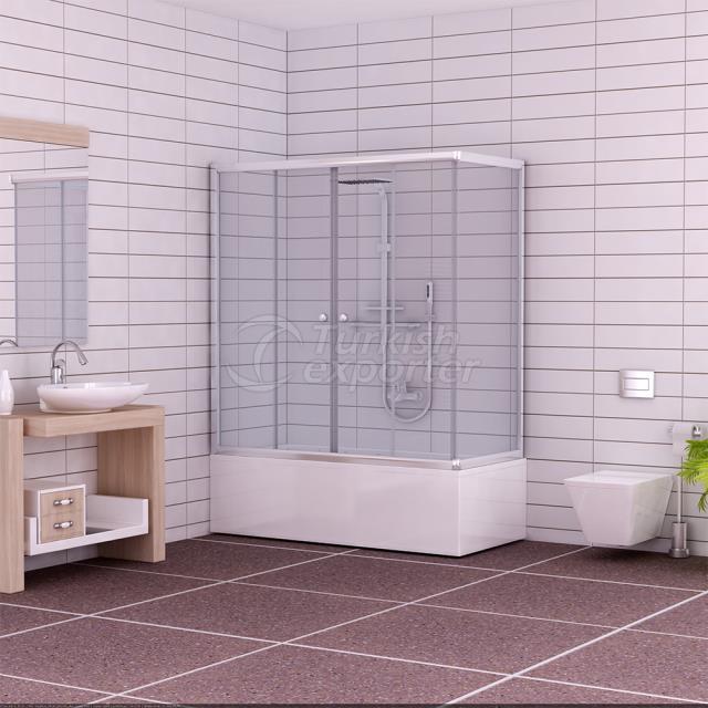 Corner Shower Cabin Ahsen