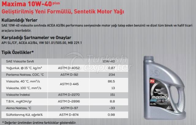 Maxima 10W-40Plus