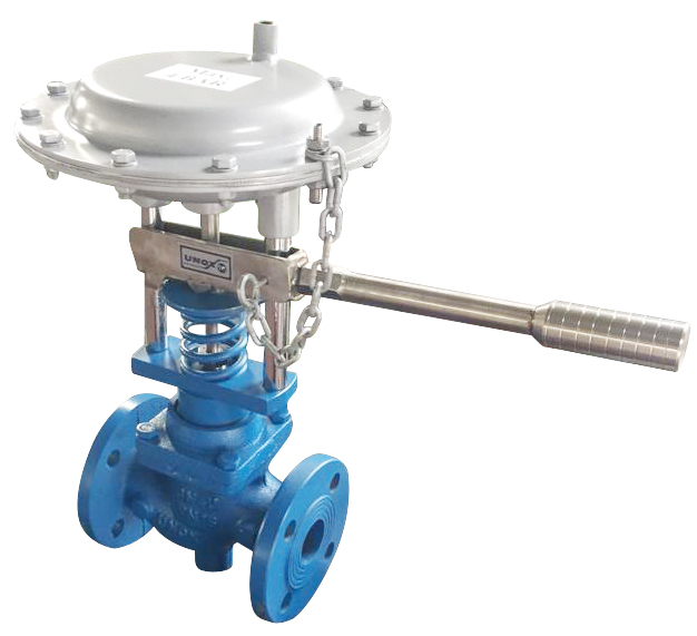 PNEUMATIC AND HAND CONTROL BLOWDOWN VALVES