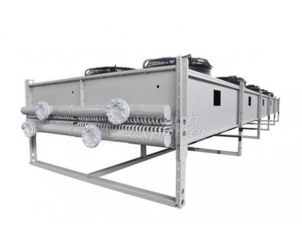Evaporador seco-molhado