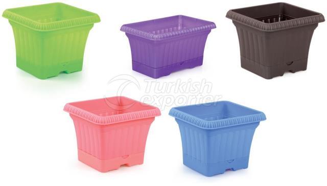 Plain Balcony Pot