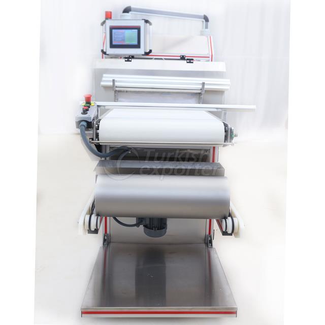 Máquina de laminadora de masa delantera