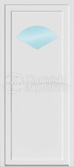 Flat PVC Door Panels 10001