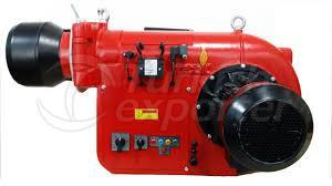 Fuel oil burner / for boilers