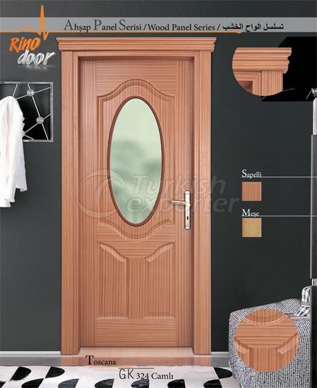 Wooden Panel Door - Toscana