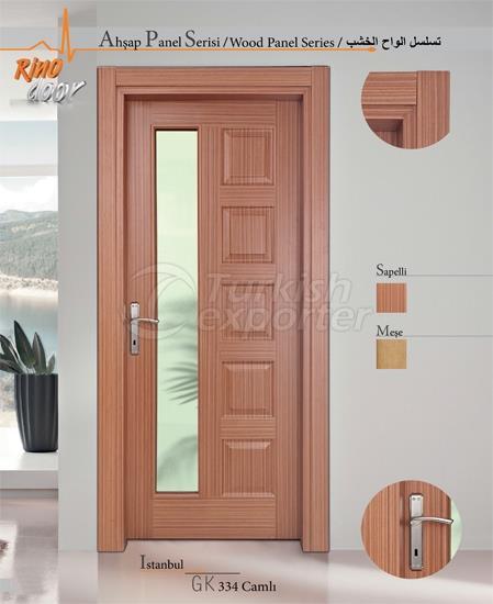 Ahşap Panel Kapı - İstanbul
