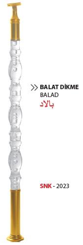 Plexi Balustrade / SNK-2023 / Balad