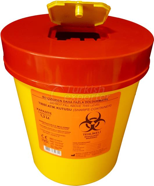 Sharps Container 1.3 L