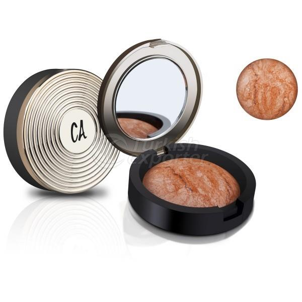 Gold Terracotta Blusher and Powder