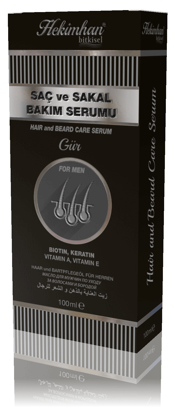 Hair and Beard Care Serum