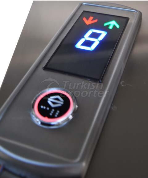 Botón de aterrizaje del elevador (LOP)