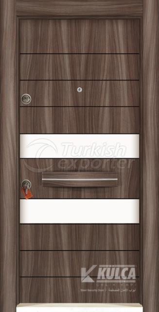 D-2009 ( PVC STEEL DOOR )