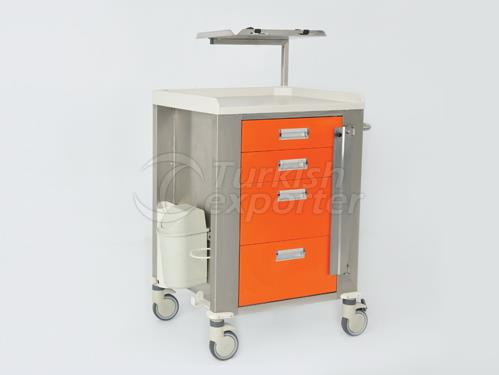 Trolley Emergency And Drug Distribution