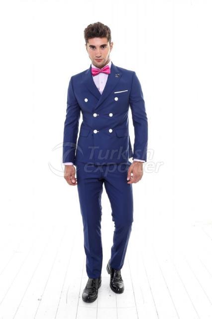 WSS Wessi Kruvaze Takım Elbise