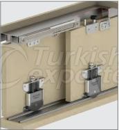 Adjustable Sliding Door System M03 SRG 135