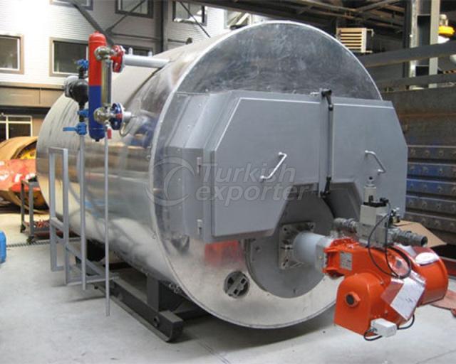 Chaudières à vapeur de gaz naturel