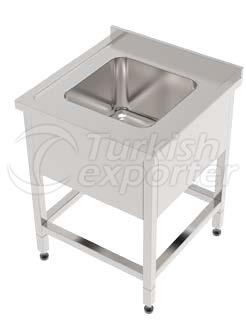 SINK WITH SINGLE BASIN