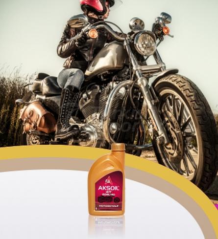 AKSOIL MOTORCYCLE 4T 20W/40