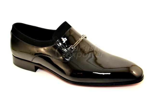 4714 حذاء براءات الاختراع الأسود
