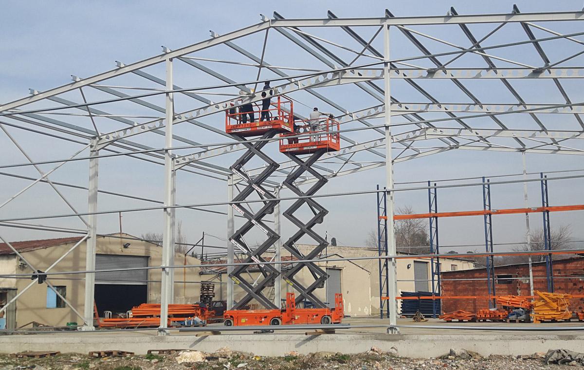 Steel Warehouse Construction