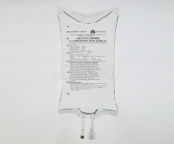 محلول  Lactated Ringer I.V.