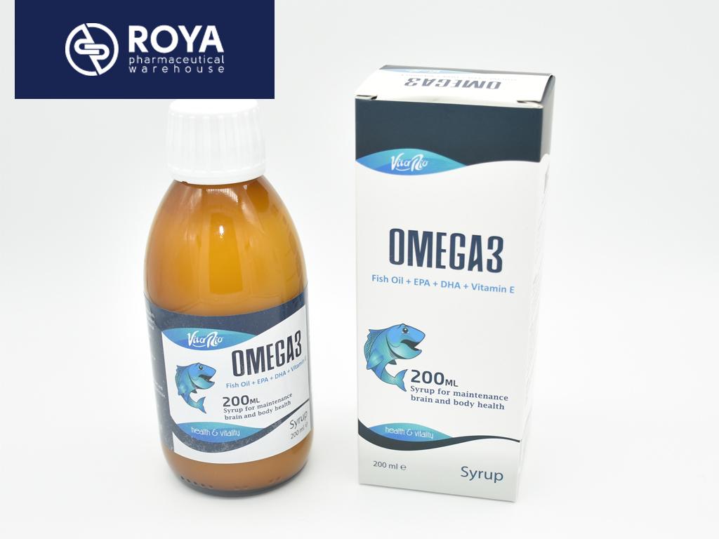 Vitario Omega 3 200 ml Syrup