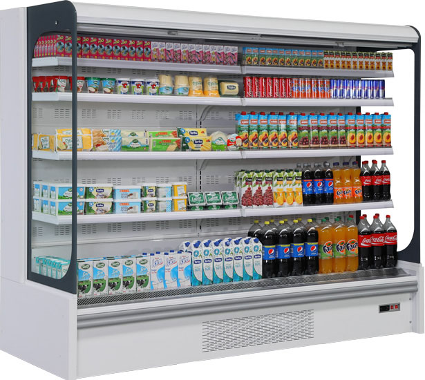 plug in dairy showcase