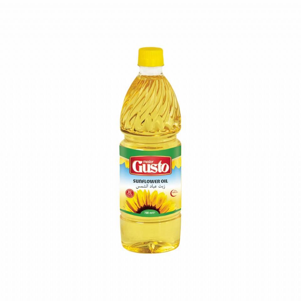 Master Gusto Sunflower Oil 700 ml