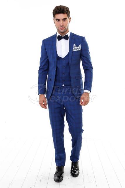 WSS Wessi Plaid Suit
