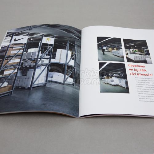 Brochuras e Catálogos