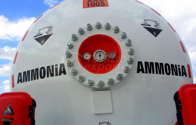 Ammonia Semi Remorque