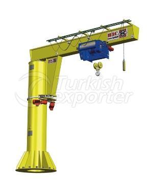 Pillar Sewing Jib Crane 360°
