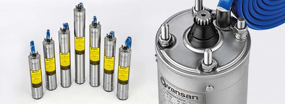vsm 4″ submersible motors