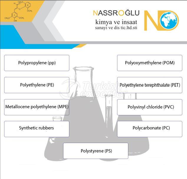 Matérias-primas plásticas e produtos químicos