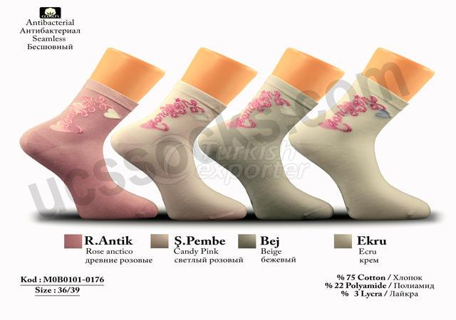 Women Socks M0B0101-0176