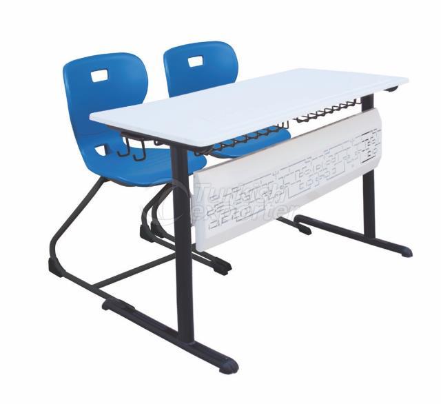 Nudo Werzalit School Desk