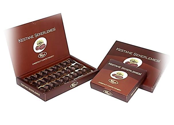 Chestnut Confectionery With Chocolate