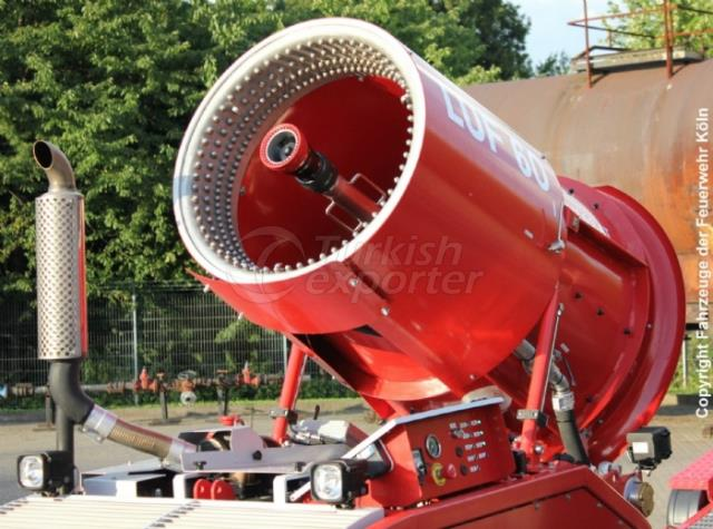 روبورت اطفاء حرائق  LUF-60