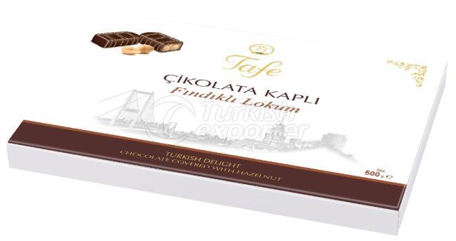 Chocolate Covered Turkish Delight Hazelnut 815