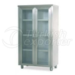 glass operating room cabinet