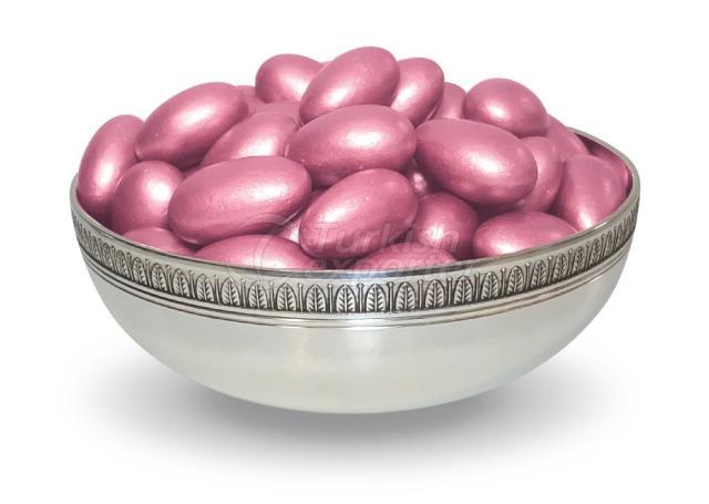 Gragea De Chocolate De Almendras Rosa 1304