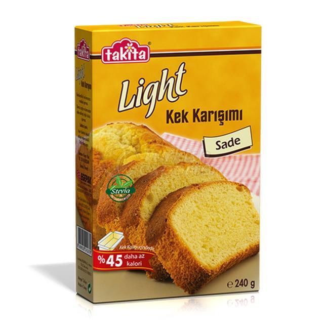 Bajo en calorías sin adición de pastel de azúcar