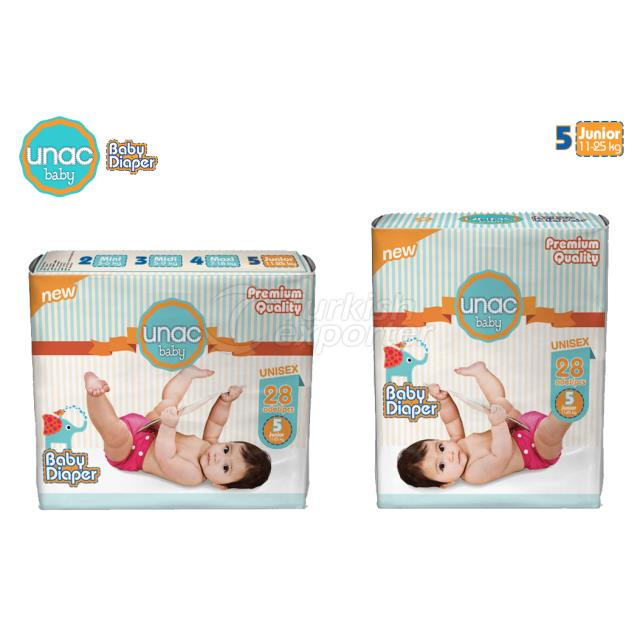 UN0005 - UnacBaby Diapers Junior