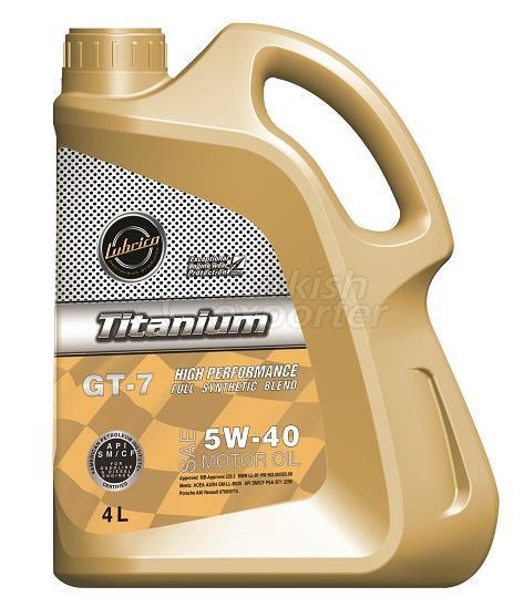Lubrico Titanium GT-7 5W/40